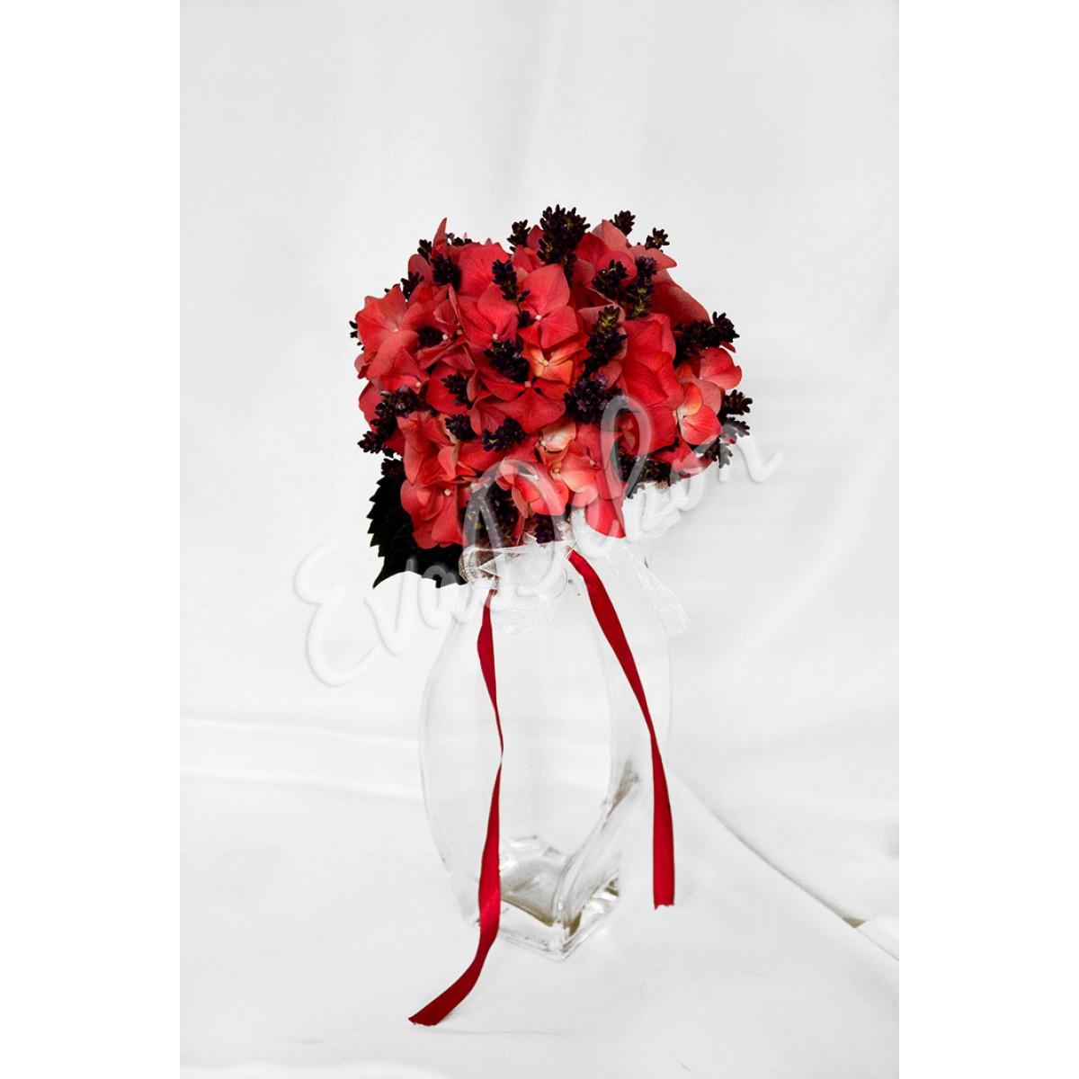 Svatební kytice Růžový sen