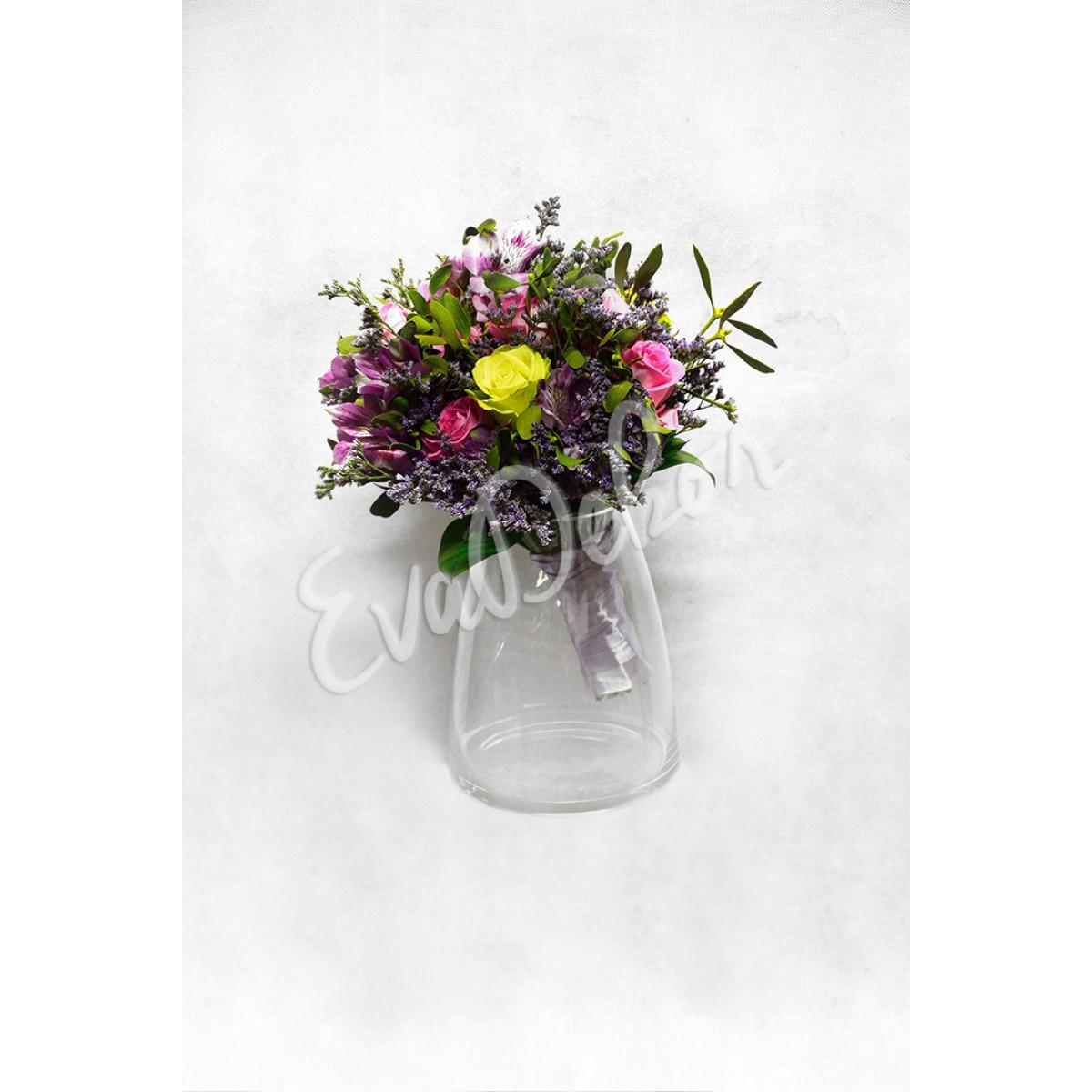 Svatební kytice Zelené štěstí