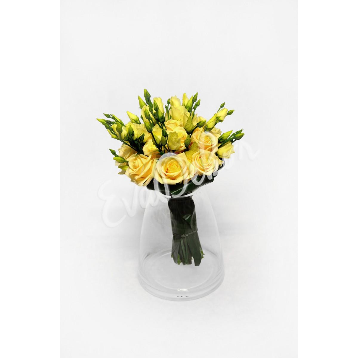 Svatební kytice Krémová růže