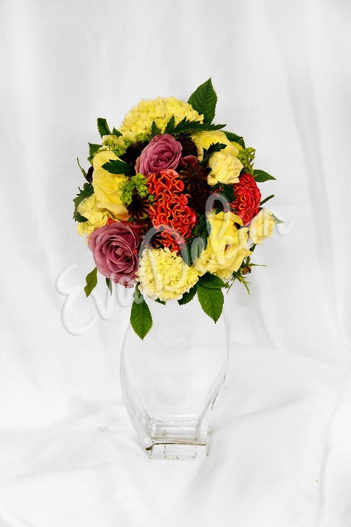 Svatební kytice Taková Maková
