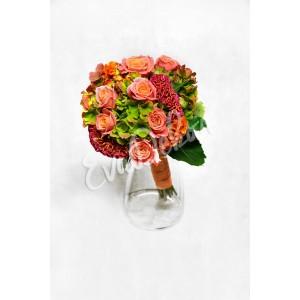 Svatební kytice Oslava barev