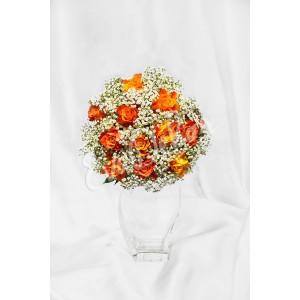 Svatební kytice Nevěstin závoj