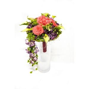 Svatební kytice Drobné kaly - EvaDekor rovoz květin po Praze
