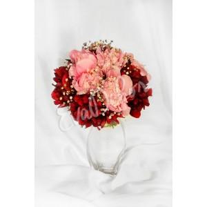 Svatební kytice Tanec pivoněk