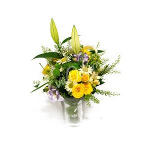Svatební kytice Lilie - EvaDekor rovoz květin po Praze