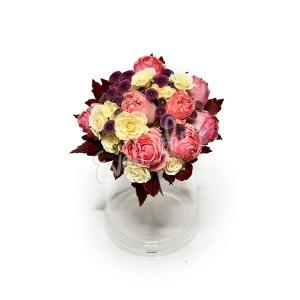Svatební kytice Anglická lady - EvaDekor rovoz květin po Praze