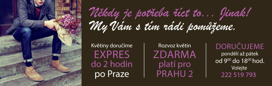 EvaDekor - rozvoz květin Praha